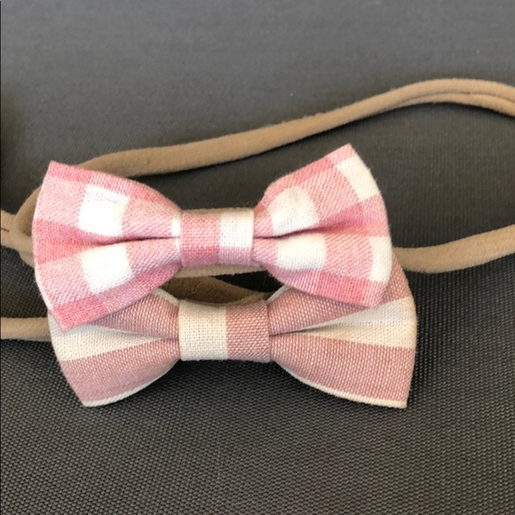 etsy Other - Baby Bow Set